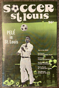 RARE 1973 NASL Soccer St. Louis Stars Pele Special Issue INCREDIBLY SCARCE!!!
