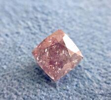 GIA Certificate Cushion 1.40  Fancy Purple Pink Natural Loose Diamond