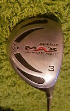 Dunlop Max 3 Wood Golf Club
