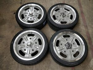 "17"" JBW SMA Silver/Machined face Wheels&tyres VW Beetle Split Screen ex-display"