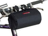 Bushwhacker Cody Black - Bicycle Handlebar & Seat Bag Cycling Pack Bike Cylinder