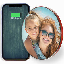 Qi Wireless Fast Charger For Apple Iphone 11 - Personalised/Customise with Photo