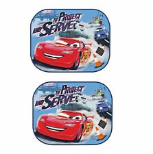 2 Foldable Car Baby Side Window Disney Cars Mesh Sun Shade Blind Visor Shield