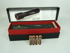LED LENSER® P14.2 9414 + 8 Batterien original Zweibrüder **NEU mit Rechnung**