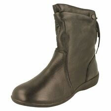 Zip Flat (less than 0.5') Plus Size Boots for Women