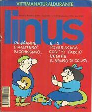 LINUS n° 9 (354) - 1994 (R.C.S. / Rizzoli) Rivista Fumetti