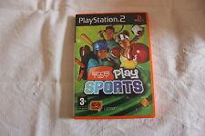 PLAYSTATION 2 EYE TOY PLAY SPORTS