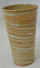 Bud Vase Tall Shot Glass Earth Tones Accents Brown #