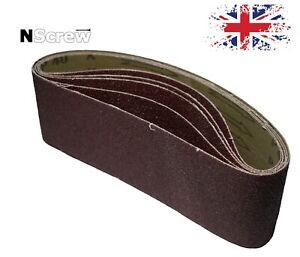 Sanding Belts 75x457 mm P40-P150 Belt Sanders Abrasive Cloth Belts