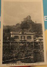cartolina Sacra di S.Michele Dalla Borgata di S.Pietro  viaggiata 1933 13/11/16