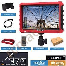 """Lilliput A7S 7""""HDMI FullHD DSLR Camera field monitor 1920x1200 4K input Sony A7R"""