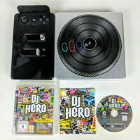 DJ Hero Turntable Controller Decks & Video Game. PLAYSTATION 3 PS3 And PS2