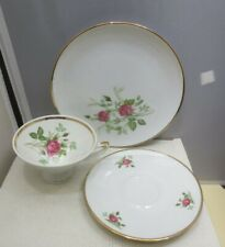 Winterling Rosian Bavaria Three Piece Set (cup, saucer, plate)