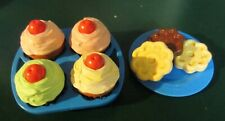 Vintage Fisher Price Fun Play Food Cupcakes and cookies