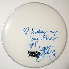 "Iggy Azalea REAL hand SIGNED 13"" Drumhead JSA COA w/ Fancy Inscription Autograph"