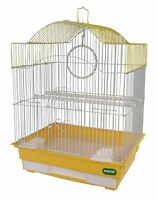 HERITAGE CAGES LULWORTH SMALL BIRD CAGE 36x29x46CM FINCH BUDGIE CANARY PET HOME