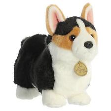 Aurora Miyoni Soft Stuffed Plush Toy Cardigan Welsh Corgi Puppy Dog Tri-Color