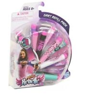 NEW Nerf Rebelle 12 Dart Refills Ammo Darts Nerf Girls Pink Combo