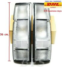 CLEAR REAR TAIL LIGHT LAMP HOUSING For Nissan Frontier Navara D21 1986-93 Pickup