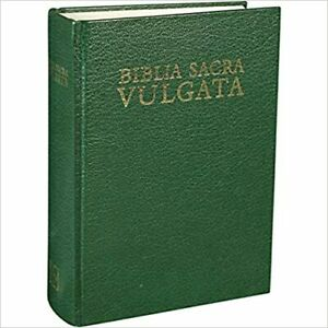 Biblia Sacra Vulgata, Tapa Dura (No es en español es en Latin)