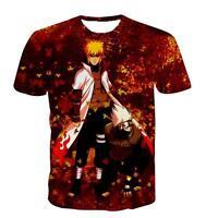 New Fashion Womens/Mens Anime Naruto Funny 3D Print Casual T-Shirt UBB232