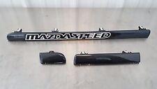 06-07 Mazdaspeed 6 Speed6 MS6 3-Piece Dash Trim Strip Molding Set w/ ms6 sticker