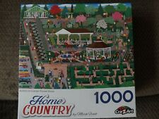 """New Cra-Z-Art 1000 Piece Puzzle """"Botanical Garden Flower Show"""" Home Country New"""