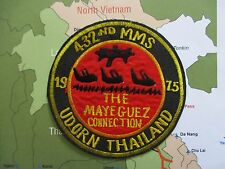 Patch_  USAF 432nd Munitions Maintenance Squadron Thai 1975 Udorn Vietnam