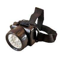 Super brillante headtorch 9 Bombillas LED Ultra Brillantes, Lámpara de la correa principal ajustable