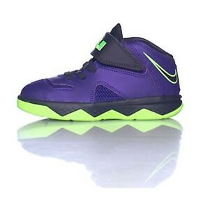 NIKE Lebron James logo on heel Low top toddler sneaker size 8C