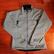 Arcteryx Womens Gamma Softshell Polartec Jacket Ice Blue Size Small Full Zip
