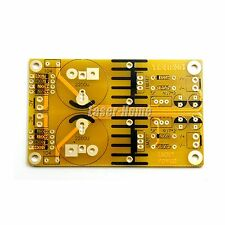 Free shipping PCB Board for LM317 LM337 Adjusted Power Supply Voltage Regulator