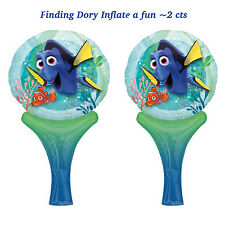 NEW Finding Dory lnflate a Fun Balloons~Birthday Decoration Party Supplies ~2ct