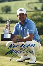 """New listing GRAEME McDOWELL - GOLF - 2010 WALES OPEN ORIGINAL SIGNED 12x8"""" PHOTO - WITH LOA"""