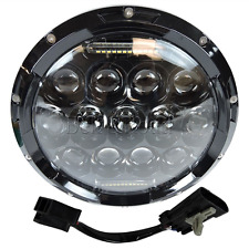 """Black 7"""" MOTORCYCLE PROJECTOR DAYMAKER HID LED LIGHT BULB HEADLIGHT FITS Harley"""