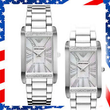 100% New Authentic Emporio Armani Genuine 16 Diamonds Women's Watch AR3169