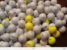 100 TITLEIST NIKE CALLAWAY SRIXON TOPFLITE WISLON TAYLORMADE PRACTICE GOLF BALLS