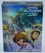 Star Blazers 2202 Complete Series Part 1 & 2 Blu-ray Dvd Limited Art Book Yamato