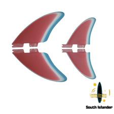 FCS-FCS2-FUTURES-Split Keel Quad Fins-Performance Glass-PG-SouthIslander-Quad x4