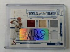 New listing 2005 Albert Pujols Tools of the Trade Auto, Glove, Bat, Home/Away Jersey1 of 1