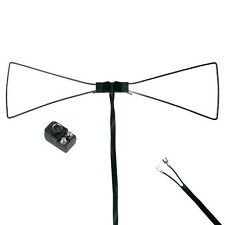 Steren UHF Bow Tie TV Antenna Indoor Outline HDTV Only Enhances Inside Reception