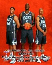 KEVIN GARNETT-PAUL PIERCE-RAY ALLEN Boston Celtics All-Stars LICENSED 8x10 photo