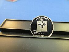 2008-S Silver Quarter NEW MEXICO Deep Cameo Mirror Proof Upper Grading Range