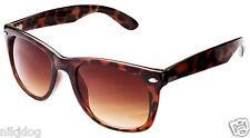 Large Sunglasses Brown Tortoise Frame Gradient Brown Lenses