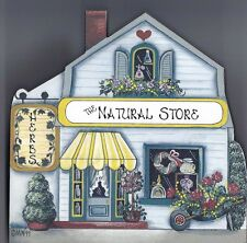 Brandywine Collectible Houses & Shops: THE NATURAL STORE Herbs SHELF SITTER