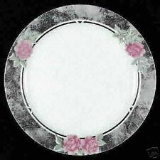 LQQK - Corelle  SILK & ROSES Salad Plate Plates AVERAGE CONDITION