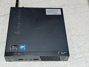 Lenovo ThinkCentre M93p Barebone Mini PC WiFi Win 10 Pro USFF no RAM/HDD/CPU