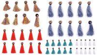 Bois Rond Boutons Couture Scrapbooking Artisanat Indien Bohème Vêtements Décor