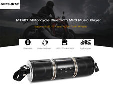 Motorcycle/bike Bluetooth Water-resistant LED TF card MP3 Music Sound Player USA