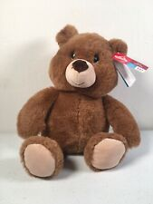 CAROUSEL TESCO Brown Teddy Bear Comforter Soft Toy Made From Recycled Plastic